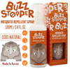 💕💕BUZZ STOPPER💕💕 MADE IN KOREA |  100ML / 60ML MOSQUITO REPELLENT SPRAY | 100% NATURAL