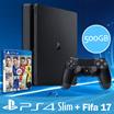 PS4 SLIM 500GB + FIFA 17 ► LOCAL SET! ► 12 + 3 MONTHS WARRANTY!