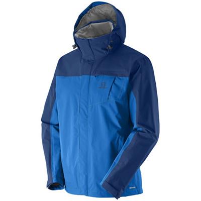 サロモン(SALOMON) コーナーストーンジャケット(JP CORNERSTONE2 JKT) M's Union Blue L37211700 【アウトドアウェア スポーツウエア メンズ ウィンドブレーカー トレーニング】の画像