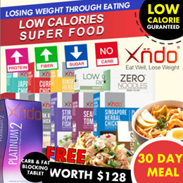 Apply $10 Cart Coupon to $158 [Bundle of 30 Boxes] Low Calories Super Food