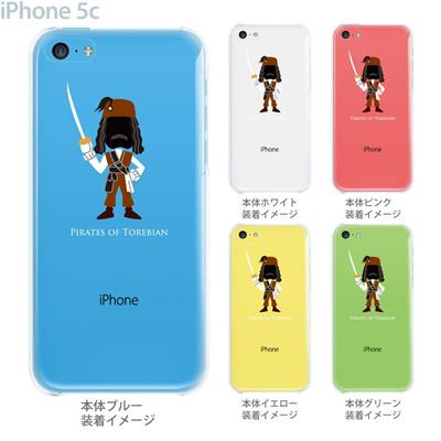 【iPhone5c】【iPhone5c ケース】【iPhone5c カバー】【ケース】【カバー】【スマホケース】【クリアケース】【クリアーアーツ】【MOVIE PARODY】【海賊】 10-ip5c-ca0028の画像