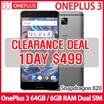 [Clearance Deal!!] OnePlus 3 Dual-SIM OnePlus 3 64GB / 6GB RAM Dual SIM LTE (Unlocked 64GB Graphite Grey) / XIAOMI