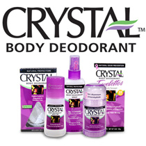 Crystal Body Deodorant - The World #1 Selling Mineral Salt Deodorant Brand. Popular in Demand!