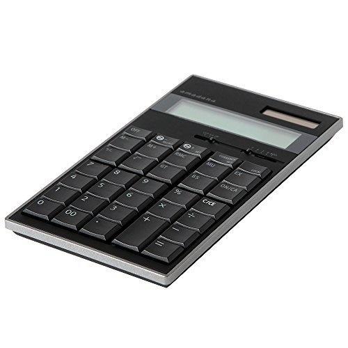 【クリックで詳細表示】amadana電子計算機(ブラック)LC-704-BK