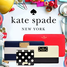 ★ SUPER SALE★100% GENUINE Kate Spade!! FROM USA ★【Kate Spade】★★★Best Wallet Collection★★★Gift