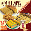 [Yahweh Delicacies]  Chinese New Year Special | 1 KG  KUIH LAPIS | Special Price | Buy 1 Get 1 FREE!!