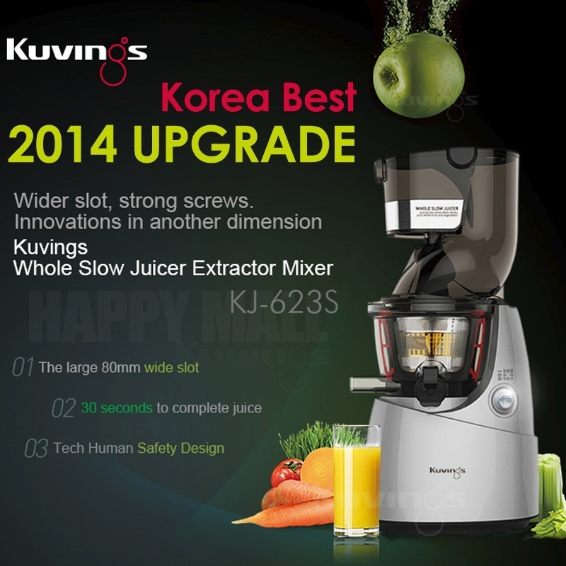 Best Slow Whole Juicer : Qoo10 - [Limited Sale] NUC Kuvings Whole Slow Juicer Extractor Mixer cuttless ... : Home Electronics
