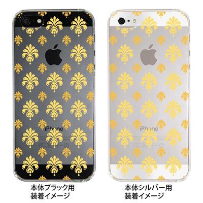 【iPhone5S】【iPhone5】【Clear Fashion】【iPhone5ケース】【カバー】【スマホケース】【クリアケース】【葉】 22-ip5-ca0039の画像