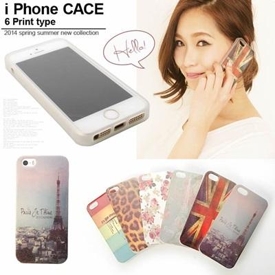 デザインプリント iPhoneケース iPhone5 5s対応418475 スマホケース カバー  取寄商品の画像