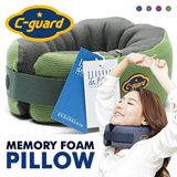 Amazing C-GUARD Memory Foam Pillow / Total Pillow Travel /Camping/ Driving