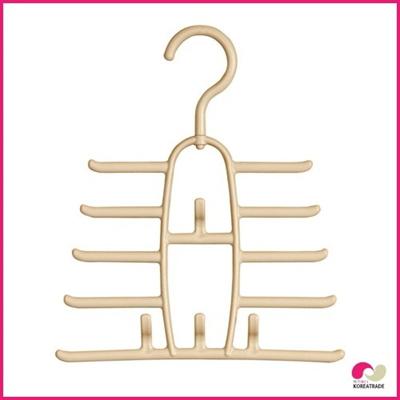 【期間限定!100円イベント】【日用品】 ハーモニーネクタイハンガー(Harmony Tie Hanger)1本組ベージュの画像