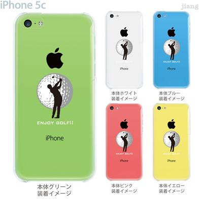 【iPhone5c】【iPhone5c ケース】【iPhone5c カバー】【ケース】【カバー】【スマホケース】【クリアケース】【クリアーアーツ】【Clear Arts】【ゴルフ】 10-ip5c-ca0074の画像