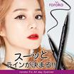 【roroko】フィックス オールデー アイライナー ★ウォータープルーフ リキッドアイライナー ◎一塗りでしっかり発色、塗れてもこすっても簡単に落ちない