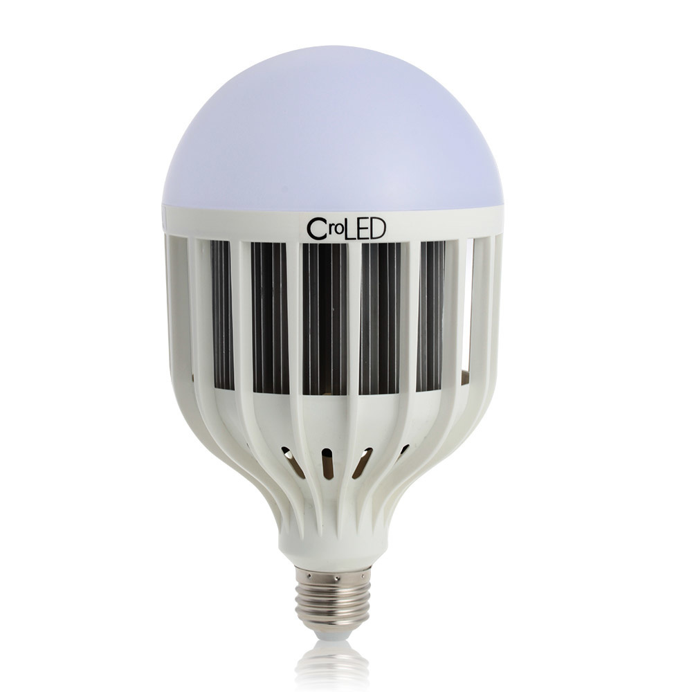【クリックで詳細表示】CroLED E27 30W 6000-6500K 2400LM Globe Light LED Lamp Bulb