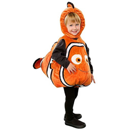 Deluxe Adorable Child Clownfish From Pixar Animated Film Finding Nemo Little Baby Fishy Halloween Co