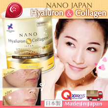[$4 CASH REBATE* WITH FREE* SHIPPING!!!] ★RESULTS GUARANTEED★ NANO COLLAGEN • Whitening Skin Hair Bustline •BEST SELLING #1 IN SG!!! • 35DAYS Upsize • 5500mg Upgraded ♥ Made in Japan