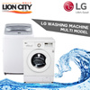 LG 7-10kg Top and Front Load Washing Machine / Washer [Multi Model] [One Stop Solution]