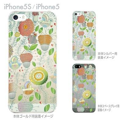 【iPhone5S】【iPhone5】【Vuodenaika】【iPhone5ケース】【カバー】【スマホケース】【クリアケース】【フラワー】 ip5-21-ne0015の画像