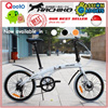 LATEST JAPAN HACHIKO!★SG SELLER★MRT Friendly★HA-02 Foldable Bicycle Folding Bike 20 Inch Wheel★Shimano★Best Price Best Quality Excider