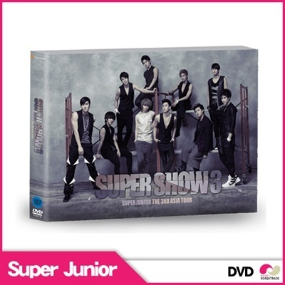 【韓国盤・2DVD】SUPER JUNIOR [Super Show 3 DVD] THE 3RD ASIA TOUR Super Show 3の画像