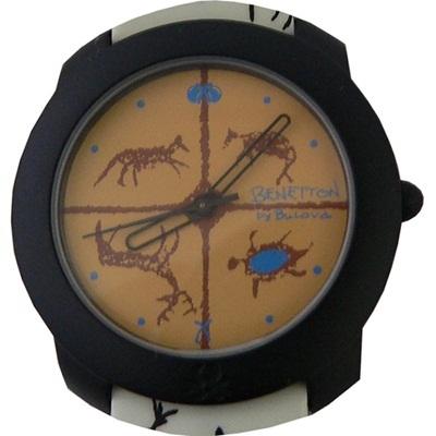 【デッドストック】BENETTON/BULOVA 腕時計の画像