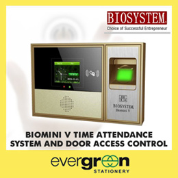 biomini V Time attendance system and door access control