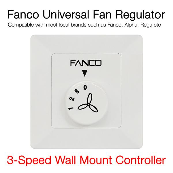 Admirable Buy Fanco Universal Ceiling Fan Regulator At Only 28Nett Buy 1 Wiring Database Rimengelartorg