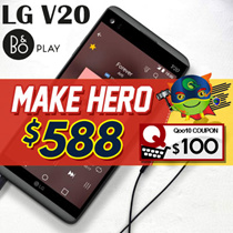 LG V20-H990DS/ Dual Sim / 4GB+64GB/ BO H3 Earphones / Export / 3 Days Warranty / 100% Sealed Set /