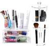Acrylic Cosmetic Organizer with Drawers/ Brush Jar Lipstick Makeup Make up Organizer Cotton Swab Box