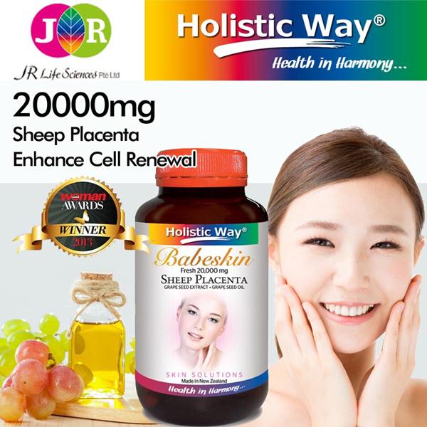 UP: $99! AWARD WINNING! NEVER BEFORE! 50% OFF + FREE DELIVERY! Holistic Way Babeskin Fresh 20000mg Sheep Placenta