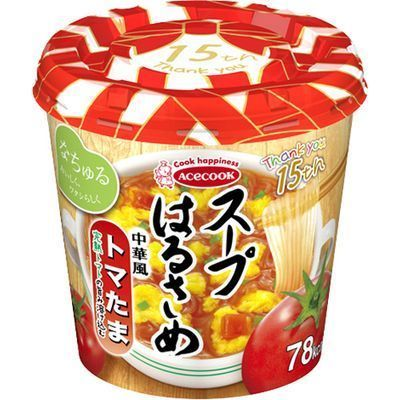 エースコック【ケース販売】スープはるさめトマたま23g×6個E476190H
