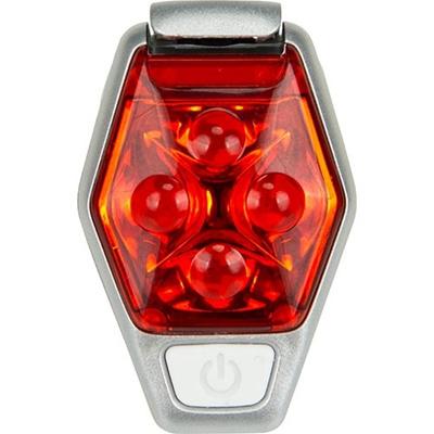ネイサン(NATHAN) Hyper Brite Strobe B11580000 F.RED/SILVER 【ランニング ジョギング ナイトラン アクセサリー LSDライト】の画像