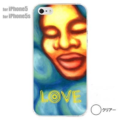 【iPhone5S】【iPhone5】【iPhone5ケース】【カバー】【スマホケース】【クリアケース】【ミュージック】【イラスト】【LOVE】 01-ip5-s001の画像
