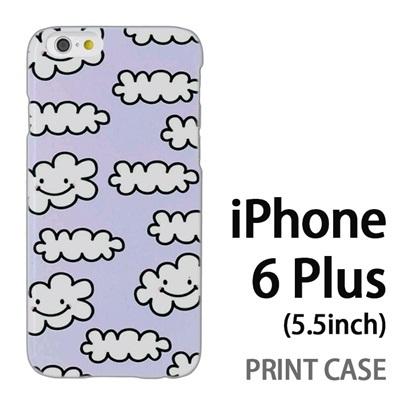 iPhone6 Plus (5.5インチ) 用『1000 雲ちゃん 水』特殊印刷ケース【 iphone6 plus iphone アイフォン アイフォン6 プラス au docomo softbank Apple ケース プリント カバー スマホケース スマホカバー 】の画像