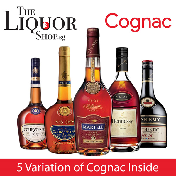 [MARTELL][HENNESSY][COURVOISIER] CHEAPEST COGNAC SALE Deals for only S$99 instead of S$0