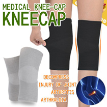 Four Season▶Bamboo Charcoal 360º Knee Guard Cap◀GDD GDE-Comfortable Knee Support/ Breathable n Elastic/ Injury of Joint Arthritis Arthralgia/ Compression