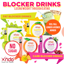 [Bundle of 4 Boxes] Xndo Fat and Carbs Blocker Drinks