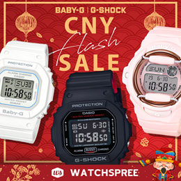 Casio G-Shock X Baby-G Chinese New Year Flash Sale. Free Shipping!
