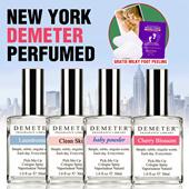1+1 [Demeter] LAST SALE!! Perfumed Pick-Me-Up Cologne Spray 30ml Plus [MILKY FOOT] Foot Peeling! 7days program