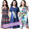 2017 latest cotton and linen material spring and summer fashion dresses tops trousers shirts T-