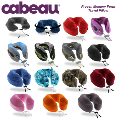 cabeau air evolution memory foam evolution pillow evolution cool the travel pillow that - Memory Foam Neck Pillow