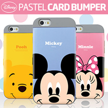 ★Authentic★Disney Pastel Crad Bumper Case★Galaxy S8/Plus/S7/Edge/S6/Note5/4/iPhone7/Plus/6S/LG G6/G5