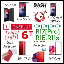 Oneplus 6T♥5T♥5♥Oppo♥R17♥R15♥R15 Pro♥R11s♥R11s +♥A75♥Tempered Glass Screen Protector♥Full Cover♥Case
