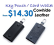 ☆ Valentine Gift ☆  Key Holder Card Wallet Car Key Pouch Keychain Leather Key Pouch Key Chain Classic Elegant Design Key Holders for Men Fast Shipping SG Seller