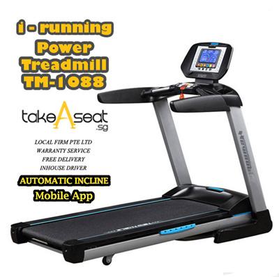 qoo10 tm 1088 powerful motorized exercise treadmill