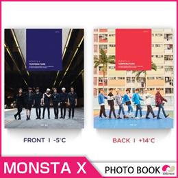【1次予約限定価格】初回ポスターMONSTA X - TEMPERATURE PHOTO BOOK DVDコード:ALL【GOODS】【2月28日発売】【3月中旬発送】