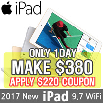 [MAKE $380!!] Apple iPad 9.7 Wi-Fi | 5th Generation 2017 Model | Retina Display