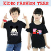 NEW ARRIVAL Kid Children Boy and Girl Unisex T Shirt / Cartoon Cute Polo T-shirt / tsum tsum