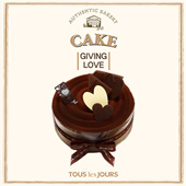 TOUS les JOURS Cake-Mobile Redemption Only-carefully read terms and condition