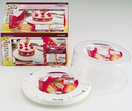 ケーキ用回転台&カバーセット★レビュー割引キャンペーン!★レビューいただける方は表示割引価格でご提供!(PD-3523)